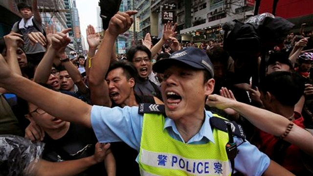 China won't give in to Hong Kong protestors' demands