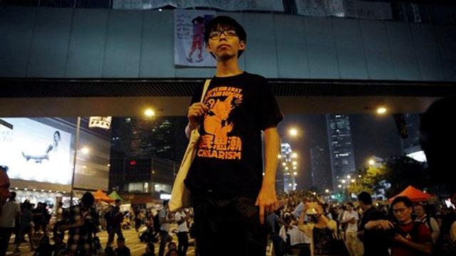 Democracy Dashed? Hong Kong protests dwindle