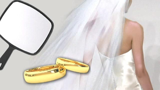 Woman marries self