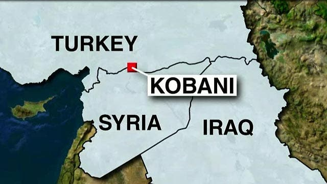 ISIS, Kurds battle for Syrian town on Turkish border