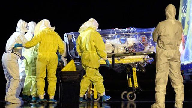 Nurse becomes first infected with Ebola outside West Africa