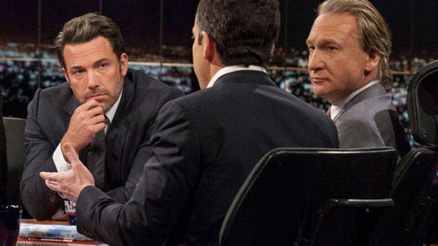 Why is Affleck the one speaking out for moderate Muslims?