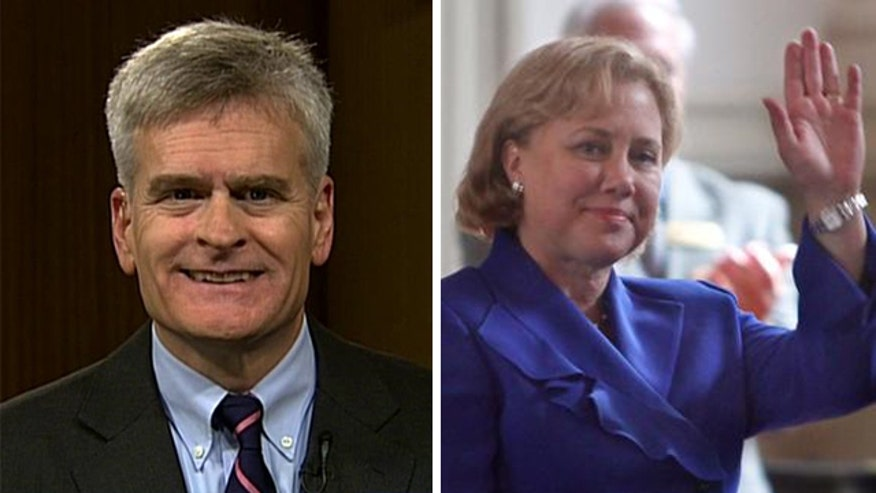 Republican candidate Cassidy gains ground in key race against Democrat Landrieu