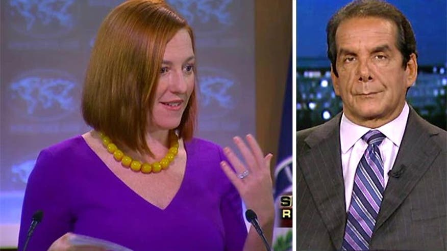 "Krauthammer: ""Happy talk"" of success in Iraq amid fighting in Syria is ""complete nonsense"""