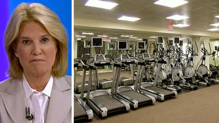 'Off the Record', 10/8/13: Greta wonders why the Congressional gym remains open during the partial suspension of government services while veterans can't visit war memorials