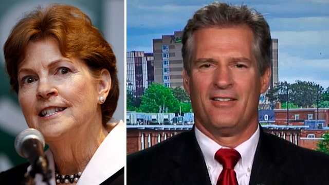Brown tries to unseat Shaheen in close NH Senate race