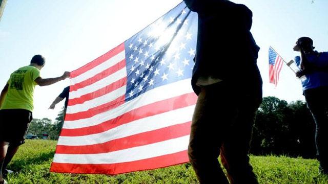 Debate over patriotism among young people in America