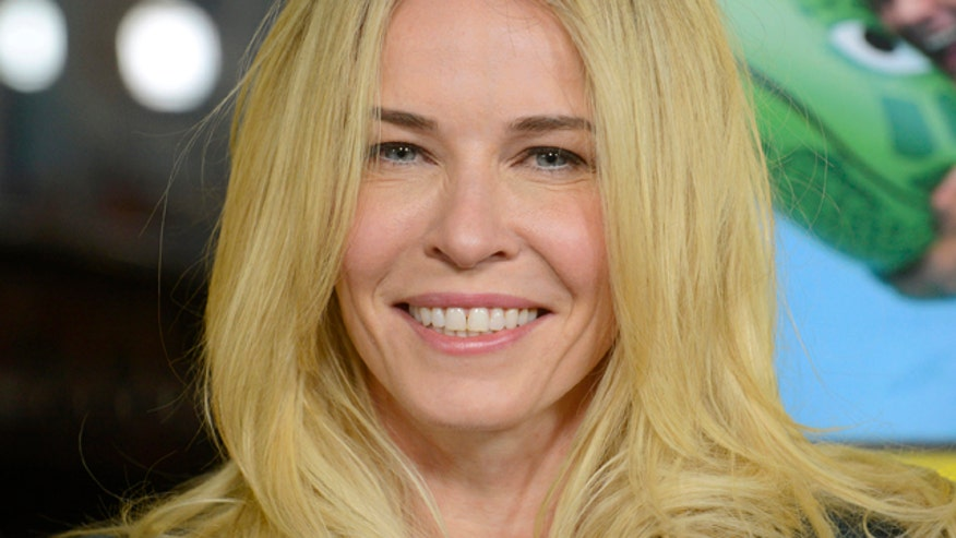 Chelsea Handler knows that showing a little skin gets the Internet's attention