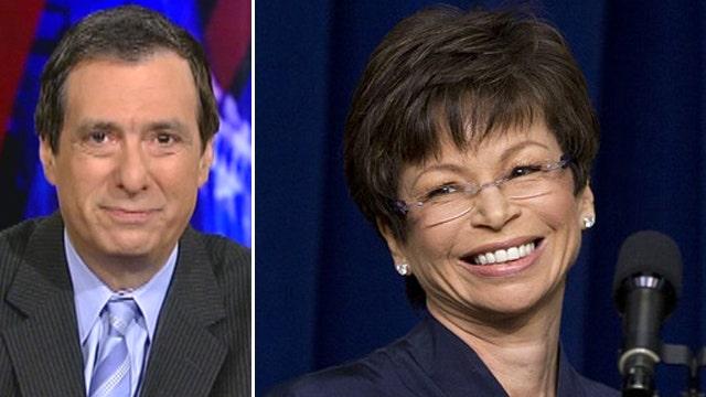 Did CBS get favor for Valerie Jarrett role?