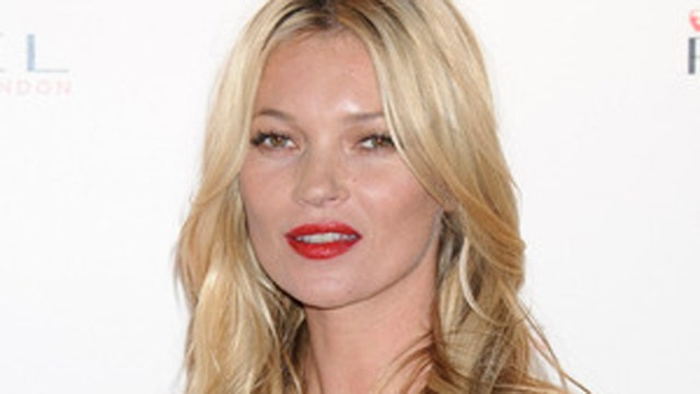 Champagne glass modeled off Kate Moss' breast