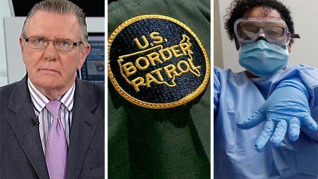 Gen. Keane weighs in on border security, Ebola worries
