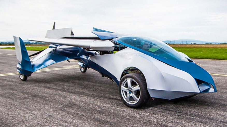 Aeromobil transforms from plane to car