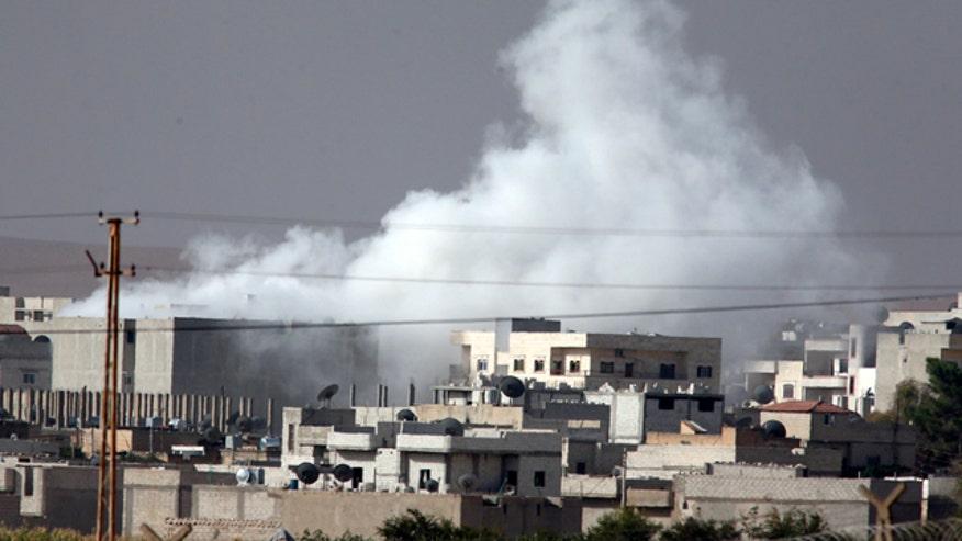 Greg Palkot reports from Turkey-Syria border
