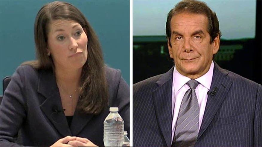 "Krauthammer: Kentucky's Grimes' ""being pushed to a position where she looks ridiculous"""