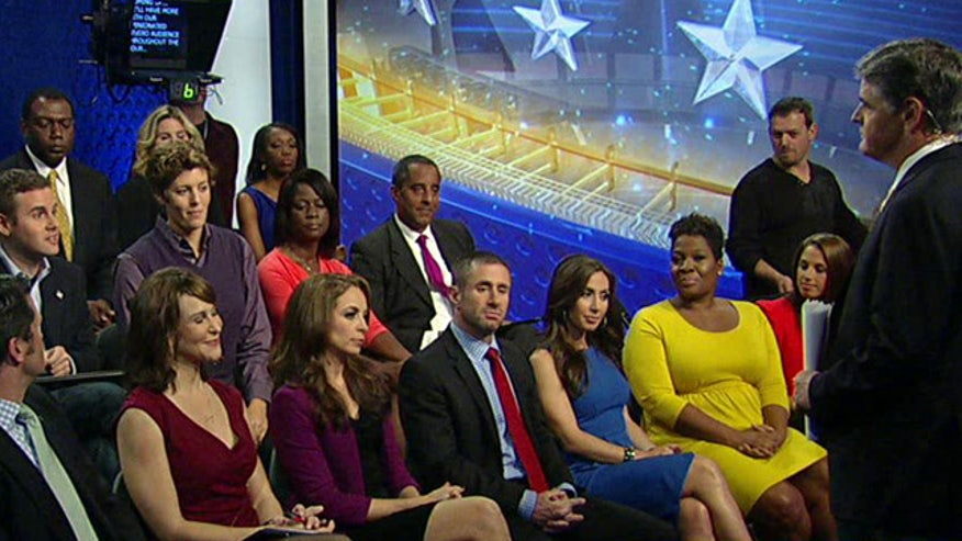 Studio audience tackles Obamacare, shutdown