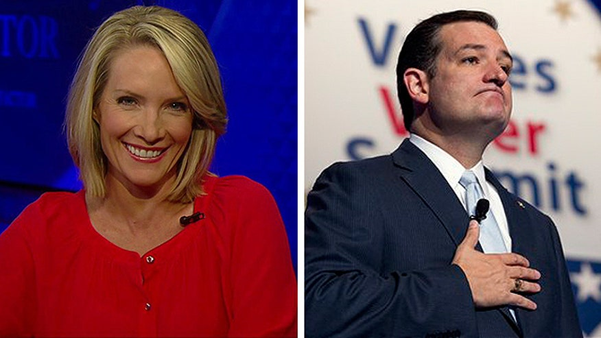 Dana Perino reacts to Senator Ted Cruz's hecklers
