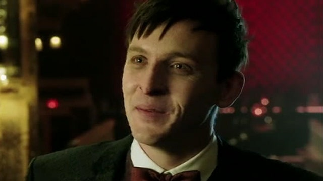 Robin Lord Taylor channels his inner Penguin