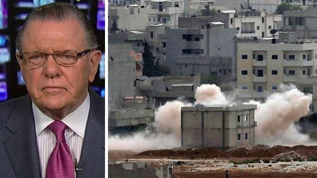 Gen. Keane: Battle for Kobani shows flaws of US strategy