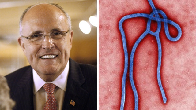 Rudy for America's Ebola point person?