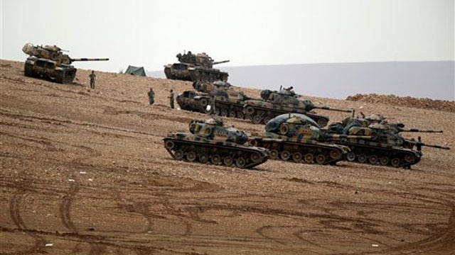 Turkey to allow coalition against ISIS to use military bases