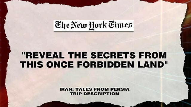 Grapevine: Exotic Mideast getaway...to Iran?