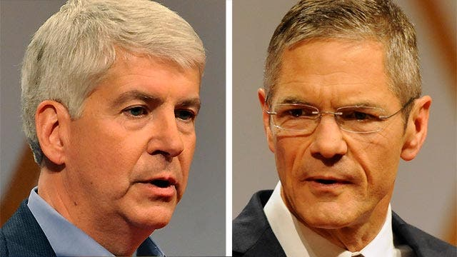 Michigan's tight gubernatorial race gets national attention