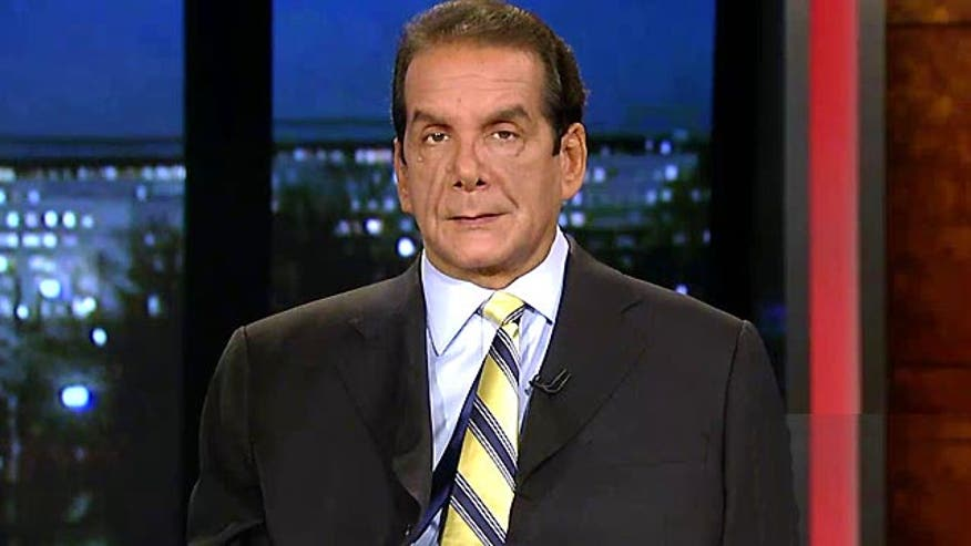 "Syndicated columnist Charles Krauthammer said Monday on ""Special Report with Bret Baier"" that despite the president's promise to degrade and destroy ISIS, the air campaign led by the U.S. is not sufficient to defeat the terror group."
