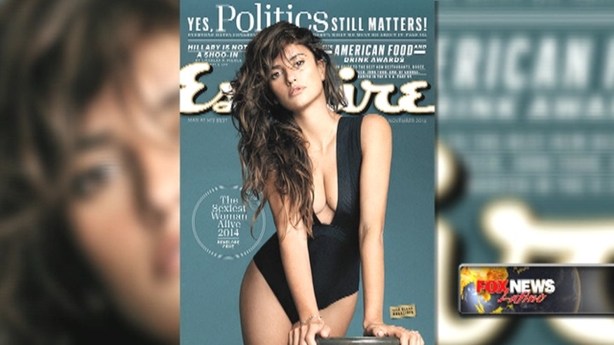 "Spanish actress Penelope Cruz has been named the ""sexiest woman alive"" by Esquire magazine."