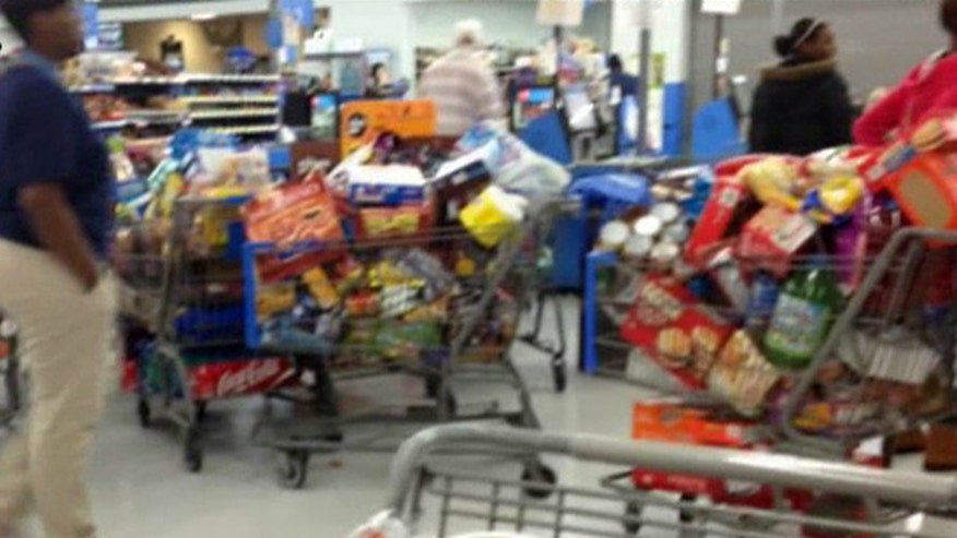EBT card error starts shopping frenzy