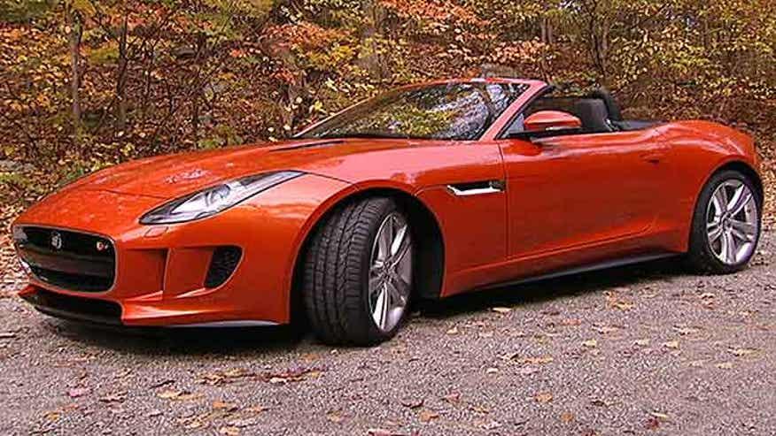Fox Car Report drives the 2014 Jaguar F-Type