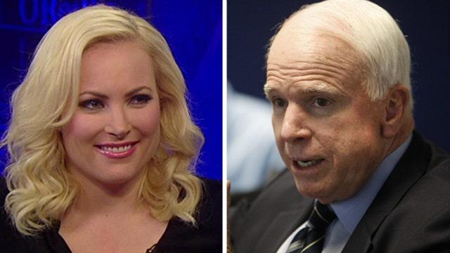 Is Senator John McCain the biggest hawk in the Senate?