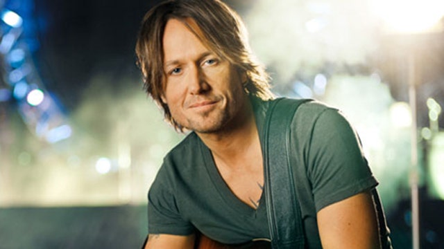Keith Urban is always on the go