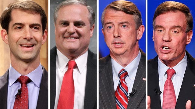 Overview of hotly contested midterm races