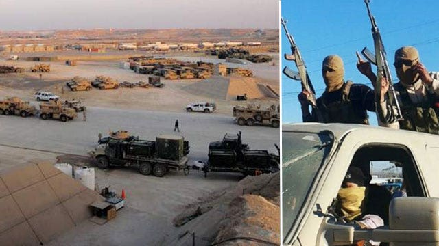 ISIS militants take Iraq army camp, at least 30 dead as bombs grip Baghdad