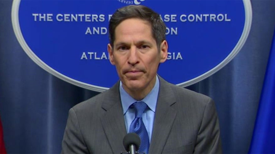 CDC holds news conference on response to Ebola cases