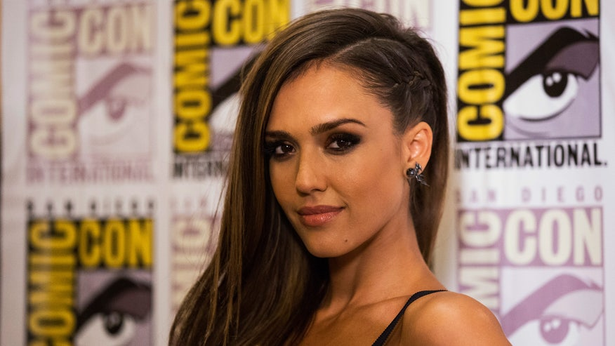 Rita Hazan Salon's Christine Healy shows us how to get Hollywood star Jessica Alba's trendy side-braid hairstyle.