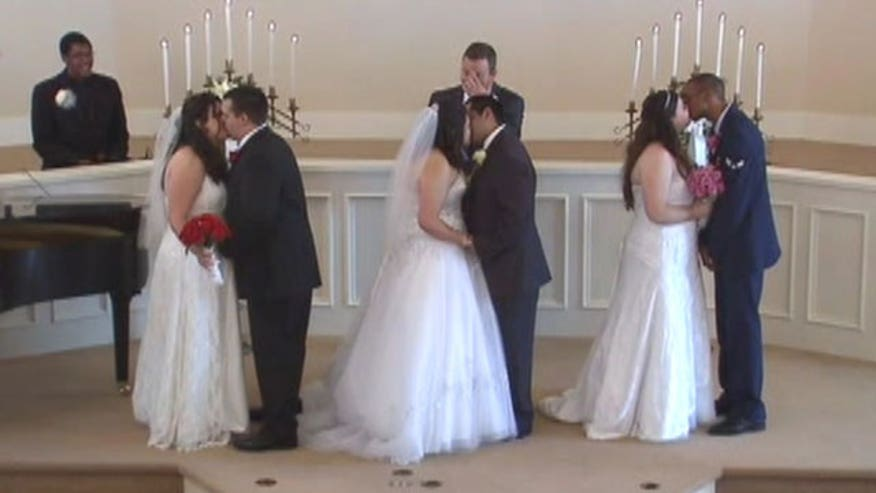 Mom dies after seeing daughters married in group ceremony