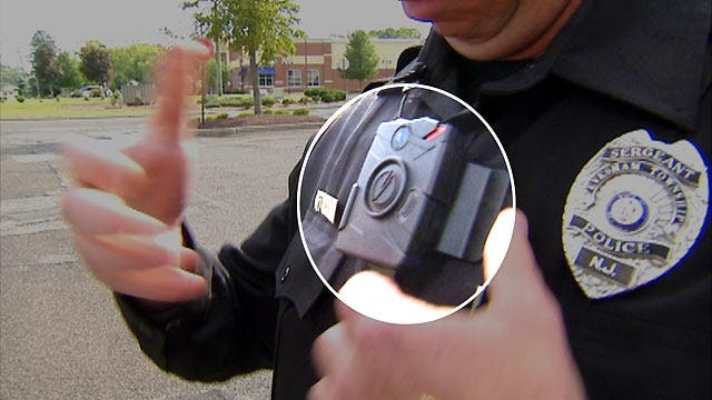 Police in New Jersey town wearing body cameras