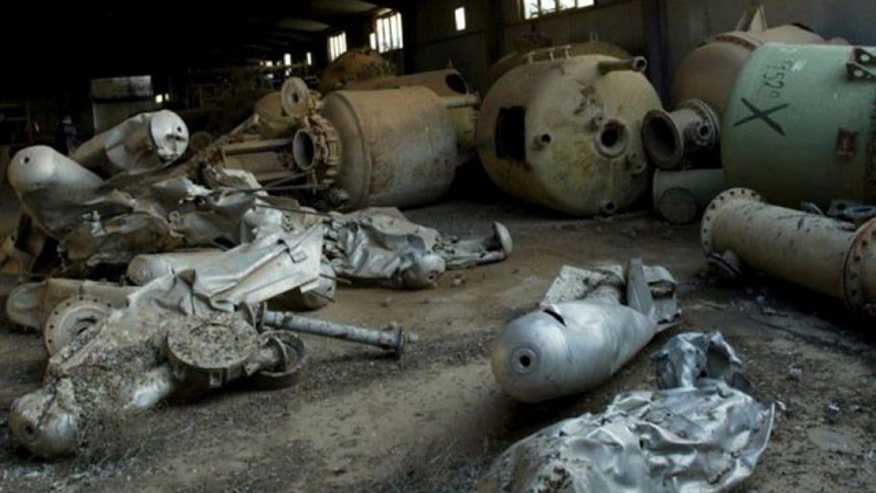 Troops allegedly exposed to decades-old chemical weapons following 2003 invasion