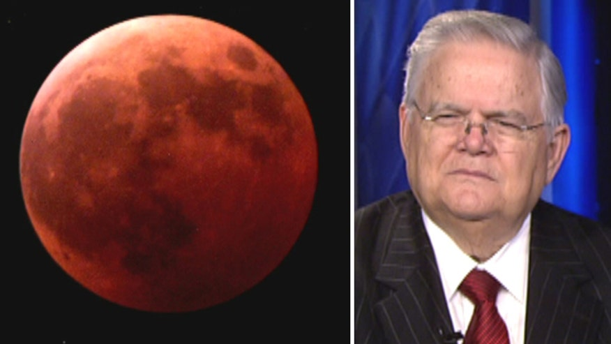 Cornerstone Church Pastor John Hagee on how God uses the sun, moon and stars to communicate with us