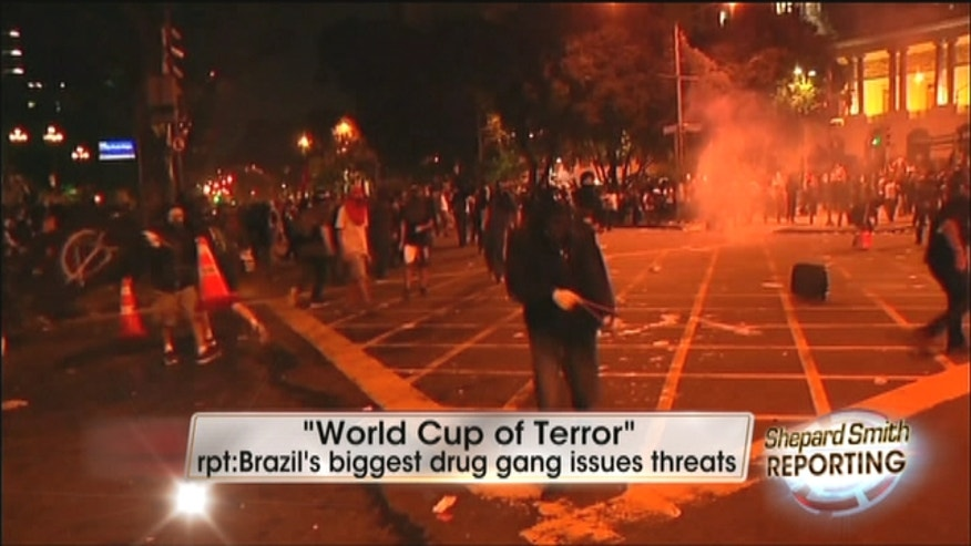 "The largest and most organized criminal organization in Brazil has threatened to unleash a ""World Cup of Terror"" during the world's biggest soccer stage in the summer of 2014."