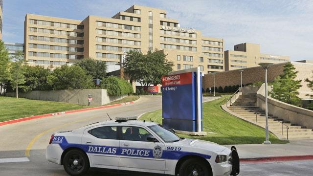 Texas task force assess Ebola response at Dallas hospital