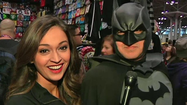 'Red Eye's' Joanne Nosuchinsky discovers Comic Con