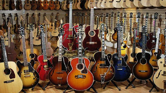 Gibson Guitar bounces back after two government raids