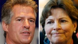 A tightening Senate race in New Hampshire is bringing with it an onslaught of negative ads and campaign-trail recriminations, as Republican Scott Brown closes the gap against incumbent Sen. Jeanne Shaheen.