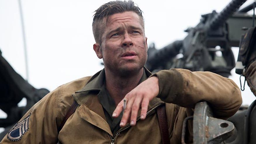 Brad Pitt stars in World War II tank drama