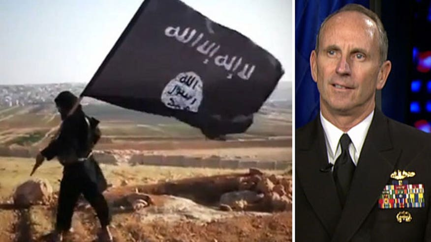 Admiral Jonathan Greenert on how the Navy is assisting in fight against ISIS