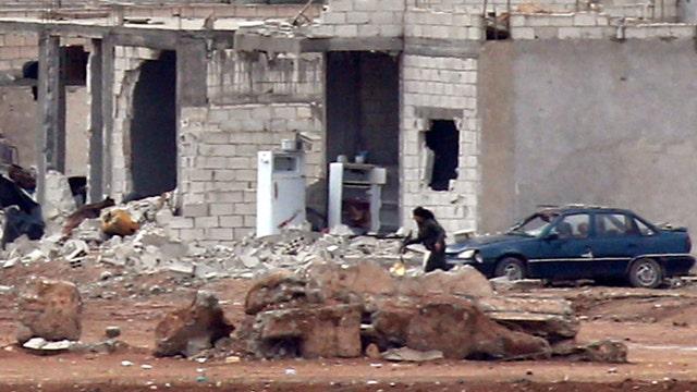 Kurdish fighters reportedly retaking parts of Kobani