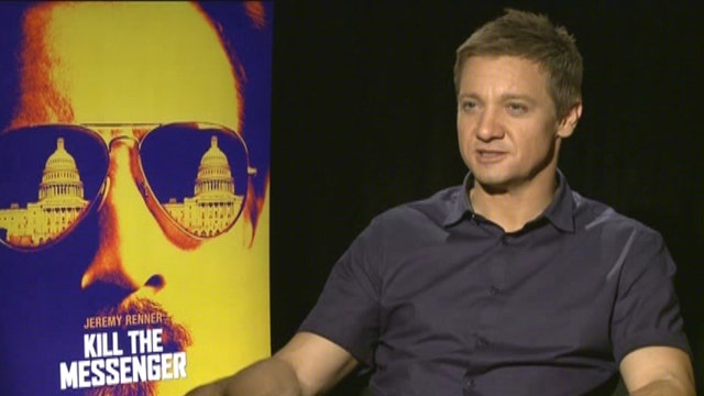 Jeremy Renner takes life with a healthy dose of skepticism