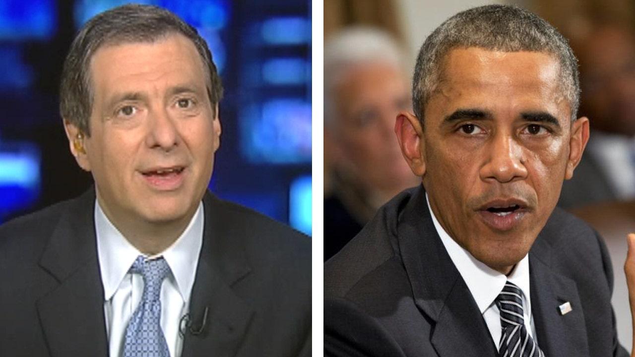 Kurtz: Why Obama caved on an 'Ebola czar'